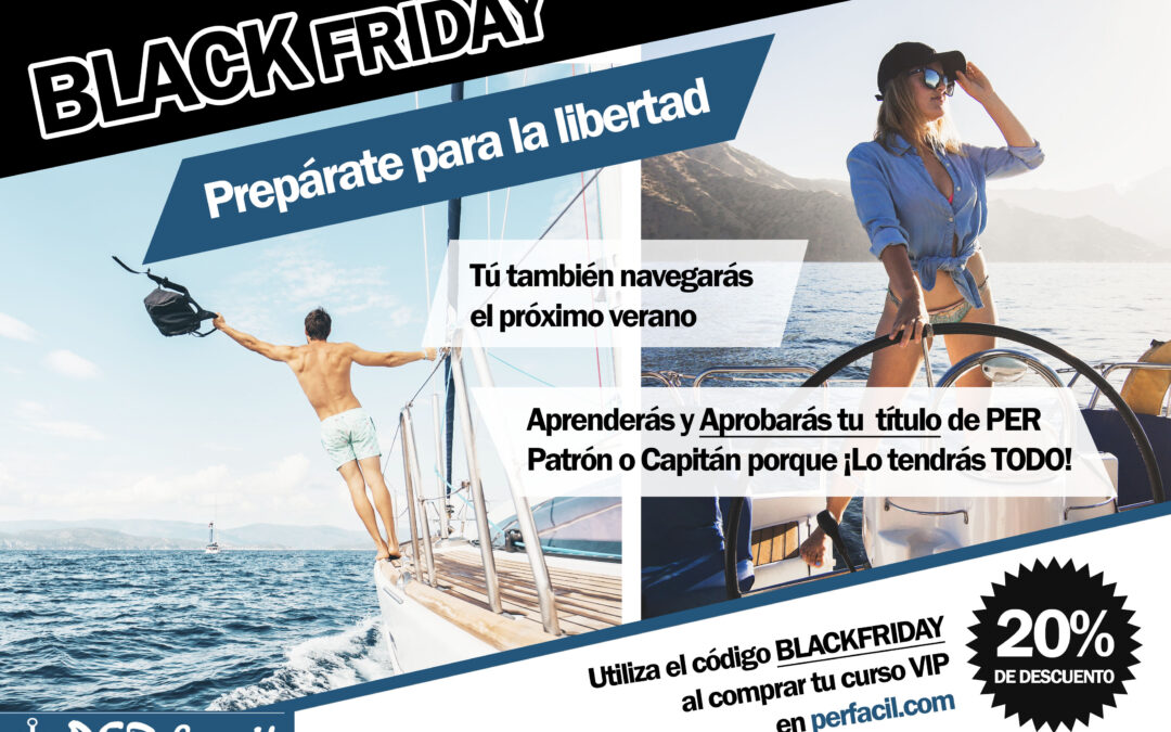 BLACK FRIDAY 20% DE DESCUENTO EN PERFACIL